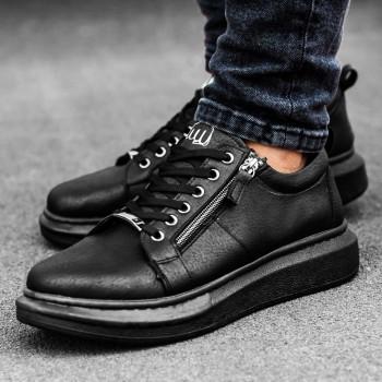 Черни обувки с цип 2530