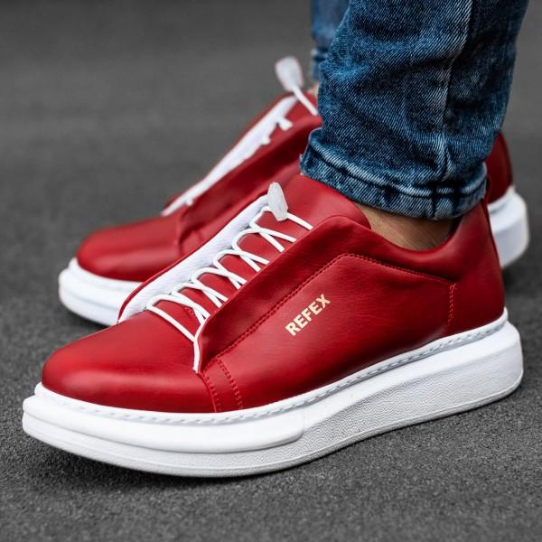 Бордо обувки с ластици 2538