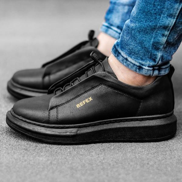 Черни обувки с ластици 2540