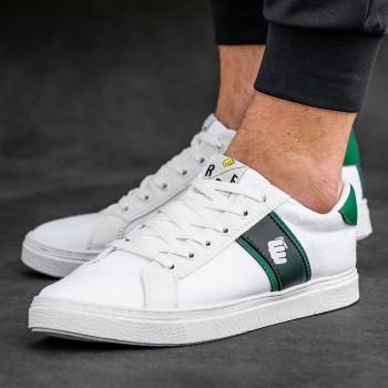 Кецове RLX в бяло с зелено 2572