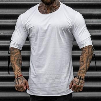 Тениска в бяло 33385
