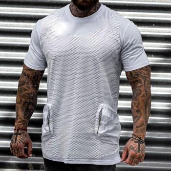 Тениска 2 части в бяло 33471