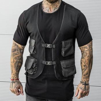 Тениска 2 части в черно 33513