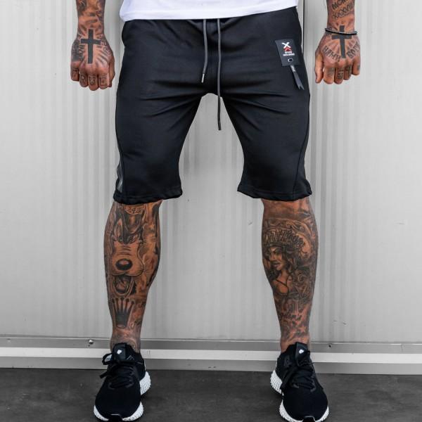 Къси панталони DAVID в черно 6095