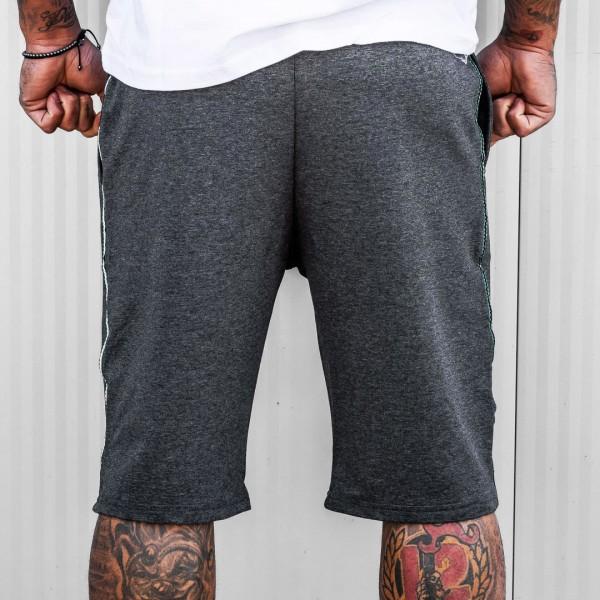 Къси панталони NATURE в тъмно сиво 6105