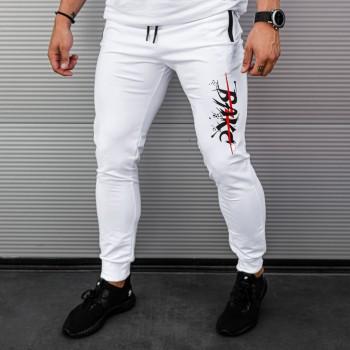 Долнище BAKC в бяло 7853