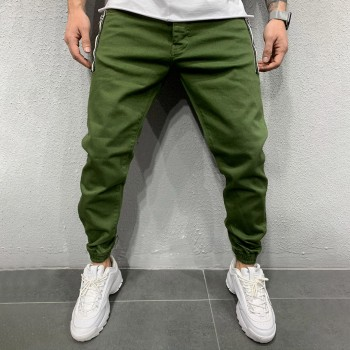 Дънки в зелено - семпъл дизайн 0313